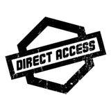 Tampon en caoutchouc d'accès direct Photos libres de droits