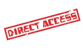 Tampon en caoutchouc d'accès direct Image libre de droits