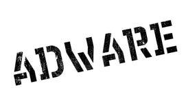 Tampon en caoutchouc d'Adware Photos libres de droits