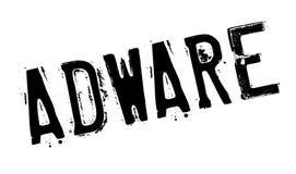 Tampon en caoutchouc d'Adware Images libres de droits