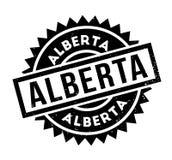 Tampon en caoutchouc d'Alberta Images libres de droits