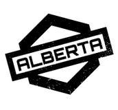 Tampon en caoutchouc d'Alberta Photo libre de droits