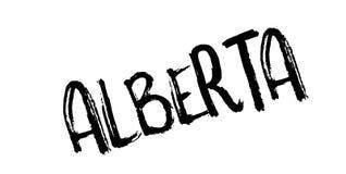 Tampon en caoutchouc d'Alberta Photographie stock libre de droits