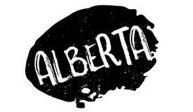 Tampon en caoutchouc d'Alberta Image stock
