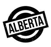 Tampon en caoutchouc d'Alberta Photos stock
