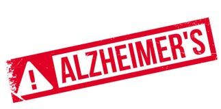 Tampon en caoutchouc d'Alzheimer Image stock