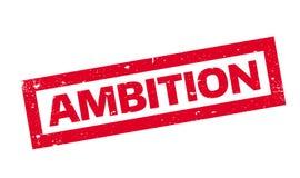 Tampon en caoutchouc d'ambition illustration stock