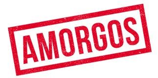 Tampon en caoutchouc d'Amorgos Image libre de droits