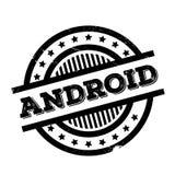 Tampon en caoutchouc d'Android Image libre de droits