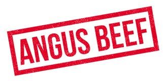 Tampon en caoutchouc d'Angus Beef Photographie stock libre de droits