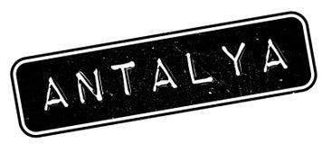 Tampon en caoutchouc d'Antalya illustration de vecteur