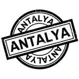 Tampon en caoutchouc d'Antalya illustration libre de droits