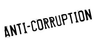 Tampon en caoutchouc d'Anti-corruption Image stock