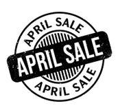 Tampon en caoutchouc d'April Sale Photo stock