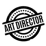 Tampon en caoutchouc d'Art Director Photographie stock libre de droits
