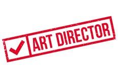 Tampon en caoutchouc d'Art Director Image libre de droits
