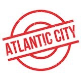 Tampon en caoutchouc d'Atlantic City Images libres de droits