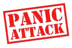 Tampon en caoutchouc d'attaque de panique Photo libre de droits