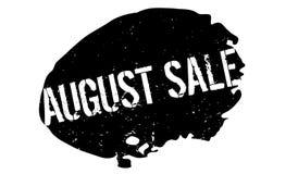 Tampon en caoutchouc d'August Sale Photos libres de droits