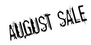 Tampon en caoutchouc d'August Sale Image libre de droits
