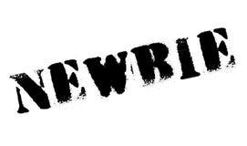 Tampon en caoutchouc d'internaute novice Image libre de droits