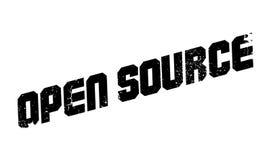 Tampon en caoutchouc d'Open Source Photo libre de droits