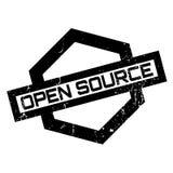 Tampon en caoutchouc d'Open Source Image stock