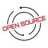 Tampon en caoutchouc d'Open Source Photos stock