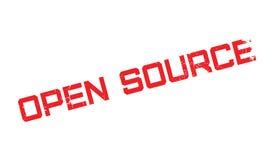 Tampon en caoutchouc d'Open Source Photographie stock libre de droits