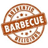 Tampon en caoutchouc de barbecue Photo stock