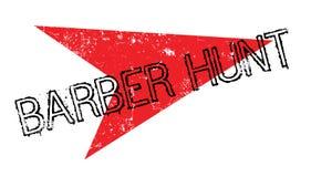 Tampon en caoutchouc de Barber Hunt Photos stock
