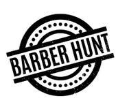 Tampon en caoutchouc de Barber Hunt Images stock