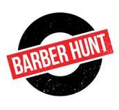 Tampon en caoutchouc de Barber Hunt Image stock