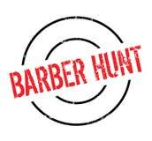 Tampon en caoutchouc de Barber Hunt Photo libre de droits
