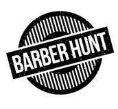 Tampon en caoutchouc de Barber Hunt Photographie stock