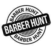 Tampon en caoutchouc de Barber Hunt Image libre de droits
