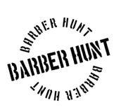 Tampon en caoutchouc de Barber Hunt Photos libres de droits