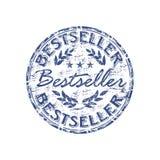 Tampon en caoutchouc de best-seller illustration de vecteur