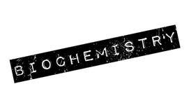 Tampon en caoutchouc de biochimie illustration stock