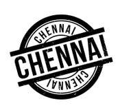 Tampon en caoutchouc de Chennai illustration de vecteur
