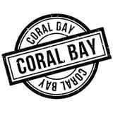 Tampon en caoutchouc de Coral Bay Photographie stock