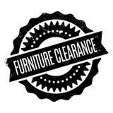 Tampon en caoutchouc de dégagement de meubles Photographie stock libre de droits