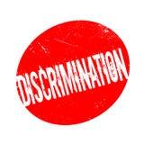 Tampon en caoutchouc de discrimination illustration de vecteur