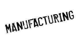 Tampon en caoutchouc de fabrication illustration stock