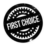 Tampon en caoutchouc de First Choice Image libre de droits