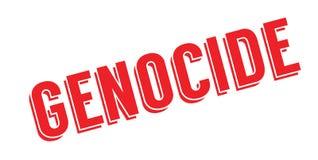 Tampon en caoutchouc de génocide Image libre de droits