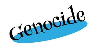 Tampon en caoutchouc de génocide Photographie stock libre de droits