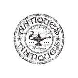 tampon en caoutchouc de grunge d'antiquités illustration de vecteur