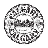 Tampon en caoutchouc de grunge de Calgary illustration de vecteur