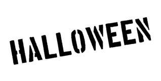 Tampon en caoutchouc de Halloween Photo libre de droits